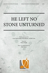 He Left No Stone Unturned