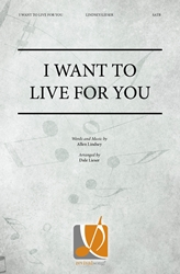 I Want to Live for You