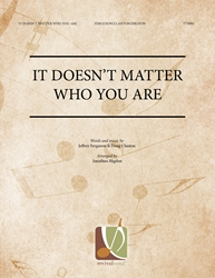 It Doesnt Matter Who You Are